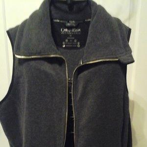 Calvin Klein fleece vest.  1X
